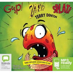 Gasp! Zapt! Splat! (MP3) Audio Book (MP3 CD) by Terry Denton, 9781486200733. Buy the audio book online.