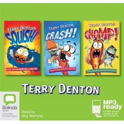 Squish! Crash! Chomp! (MP3) Audio Book (MP3 CD) by Terry Denton, 9781486200740. Buy the audio book online.