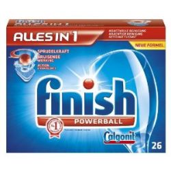 Calgonit Finish Powerball Alles in 1 Tabs, 514g