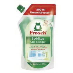 Frosch Spiritus Glas Reiniger Nachfüllbeutel, 4er Pack (4 x 500 ml)