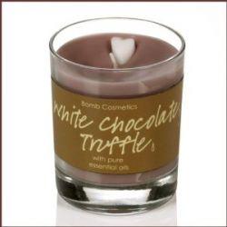 Bomb Cosmetics Duftkerze in Dose, White Chocolate Truffle