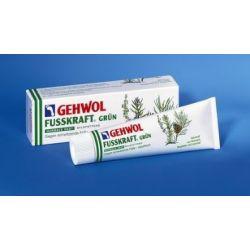 GEHWOL Fusskraft Grün, Normale Haut, Fussdeo Creme, Fußcreme, 125 ml