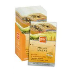 Merz Spezial Peel-Off Maske Ananas & Papaya, 15er Pack für 30 Anwendungen