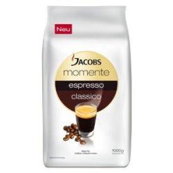 Jacobs Momente Espresso Classico, Ganze Bohnen, 1 er Pack (1 x 1 kg)