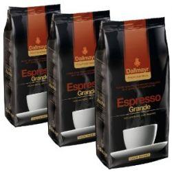 Dallmayr professionel Espresso Grande Kaffee, ganze Bohnen, 3er Pack, 3 x 1000g