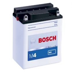 0092M4F150 Bosch Motorradbatterie Fresh Pack 3AH, JIS-Code YB3L-A