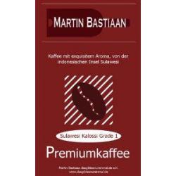 M.B. Premium Kaffee Sulawesi Kalossi Grade 1 250gr.-gemahlen