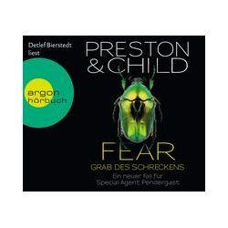 Hörbücher: Fear - Grab des Schreckens  von Douglas Preston, Lincoln Child
