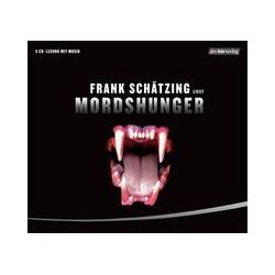 Hörbücher: Mordshunger, 5 Audio-CDs  von Frank Schätzing von Niklas Richter, Loy Wesselburg