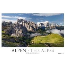 Alpen 2014 by Rainer Mirau XXL Bildkalender 2014 [Spiralbindung] [Spiralbindung]