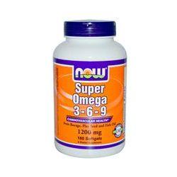 Now Foods, Super Omega 3 - 6 - 9, 1200 mg, 180 Softgels