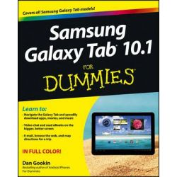 Samsung Galaxy Tab 10.1 for Dummies by Dan Gookin, 9781118228333.
