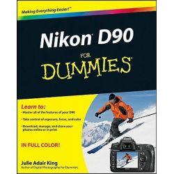 Nikon D90 For Dummies by Julie Adair King, 9780470457726.