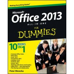 Office 2013 All-in-One For Dummies by Peter Weverka, 9781118516362.