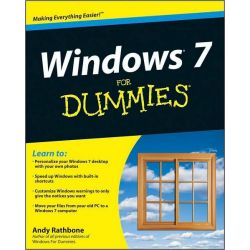 Windows 7 For Dummies by Andy Rathbone, 9780470497432.