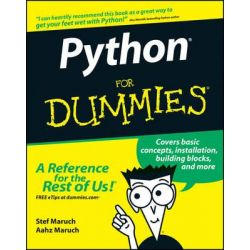 Python For Dummies by Stef Maruch, 9780471778646.
