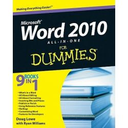 Word 2010 All-In-One For Dummies by Doug Lowe, 9780470487662.