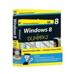 Windows 8 for Dummies Book + DVD Bundle by Andy Rathbone, 9781118271674.