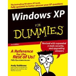 Windows XP For Dummies, 2nd Edition by Andy Rathbone, 9780764573262.
