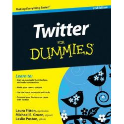 Twitter for Dummies by Laura Fitton, 9780470768792.