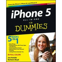 IPhone 5 All-in-One For Dummies, 2nd Edition by Joe Hutsko, 9781118407943.