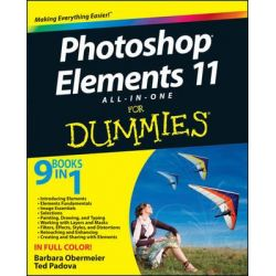 Photoshop Elements 11, All-in-One For Dummies by Barbara Obermeier, 9781118408223.
