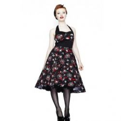 Hell Bunny Kleid SETH DRESS black