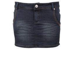 Sublevel Damen Jeans Rock Mini Rock aus Sweat Stoff
