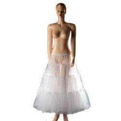 Austen - 9070 Petticoat Weiß Gr.34-46 (Einheitsgröße)