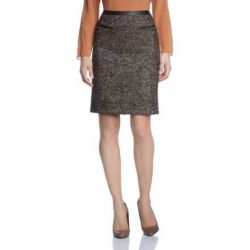 Turnover Damen Rock skirt black