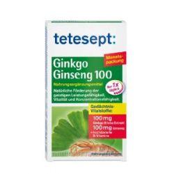 tetesept Ginkgo Ginseng 100, 30 Tabletten, 20,4 g