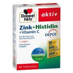Doppelherz Zink, Histidin und Vitamine C 30-er Pack