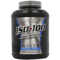 Dymatize ISO 100, Vanilla, 1er Pack (1 x 2.257 kg)