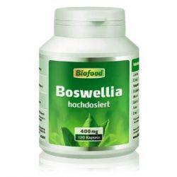 Biofood Weihrauch (Boswellia serrata), hochdosiert, 120 Kapseln, 1er Pack (1 x 60 g)