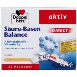 Doppelherz Säuren-Basen Balance direct, 20 Beutel, 2er Pack (2 x 46 g)