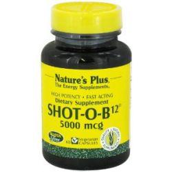 Shot-O-B-12 Vitamin B-12 5000 mcg 60 veg. Kapseln NP