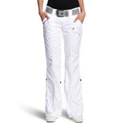 edc by ESPRIT Damen Hose 993CC1B902 Play-Turn-Up Straight Fit (Gerades Bein) Normaler Bund