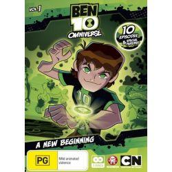 Ben 10 on DVD.