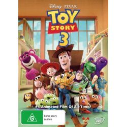 Toy Story 3 on DVD.