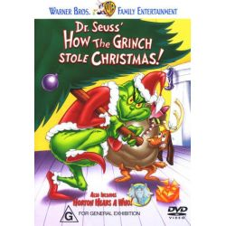 How the Grinch Stole Christmas (1966) / Horton Hears a Who! (1970) (Dr Seuss) on DVD.