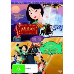Mulan / Mulan 2 on DVD.