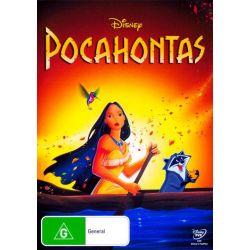Pocahontas on DVD.