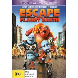 Escape From Planet Earth (DVD/UV) on DVD.