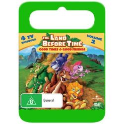 The Land Before Time on DVD.