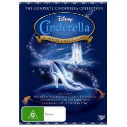 Cinderella / Cinderella II on DVD.