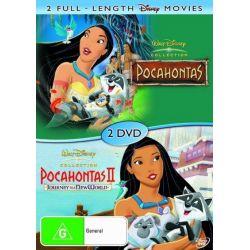 Pocahontas (1995) / Pocahontas 2 on DVD.