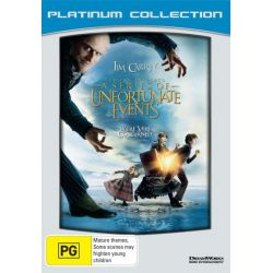 Lemony Snicket's A Series of Unfortunate Events (Platinum Collection) on DVD.