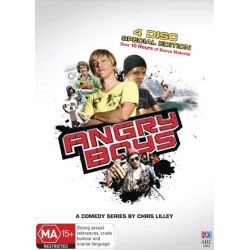 Angry Boys (Special Edition Steelbook) on DVD.