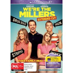 We're the Millers (DVD/UV) on DVD.