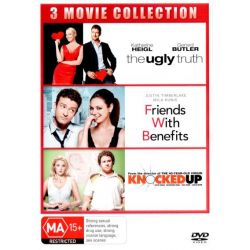 The Ugly Truth / Friends With Benefits / Knocked Up (3 Discs) on DVD.